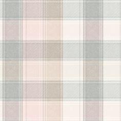 Checker Wallpaper, Pink And Grey Wallpaper, Tartan Wallpaper, Wallpaper Roll, Pattern Wallpaper, Mood Wallpaper, Wallpaper Ideas, Grey And Beige, Pink Grey