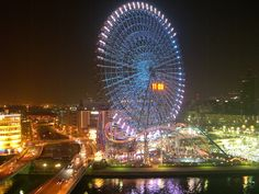 Amusement park by night by ~saurabhj on deviantART