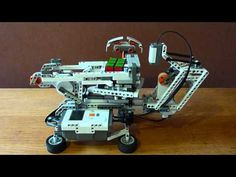 I recently published a video of my latest LEGO Rubik's Cube solving robot that can be built from a single LEGO MINDSTORMS NXT kit. It may not be as fast as CubeStormer II but it is much cheaper! Lego Nxt, Lego Robot, Lego Rubiks Cube, Rubik's Cube Solver, Lego Engineering, Lego Website, Lego Mindstorms, Cube Puzzle, Mechanical Design