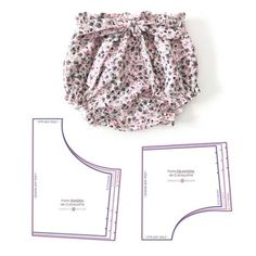 Best 12 Baby Toddler Bloomers pattern, High Waisted Bloomer PDF, Bloomers pattern, Baby shorts pattern, Diap – Page 835628905843787136 – SkillOfKing. Baby Dress Patterns, Baby Clothes Patterns, Sewing Patterns For Kids, Clothing Patterns, Sewing Ideas, Baby Pants Pattern, Baby Dress Tutorials, Sewing Projects, Sewing Clothes