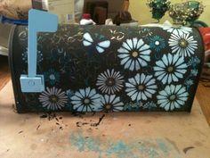 painted mailbox @Jourdan Beasley