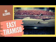 How to make Tiramisu dessert. Quick and easy recipe without alcohol. How To Make Tiramisu, Cooking Box, Tiramisu Dessert, Quick Easy Meals, Alcohol, Make It Yourself, Music, Desserts, Recipes