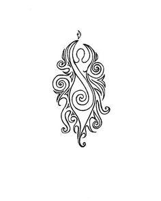 Infertility tattoo - love the subtleness of this tattoo and it's quite delicate and pretty :) Tattoos Mandala, Tattoos Skull, Body Art Tattoos, Tribal Tattoos, Small Tattoos, Cool Tattoos, Indian Tattoos, Heidnisches Tattoo, Pagan Tattoo