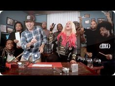 Your Body Song Cover By Christina Aguilera & Jimmy Fallon! I love when he starts dancing!! Plus with office supplies as instruments!