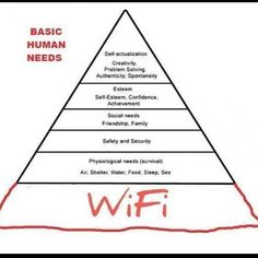 Unfortunately this is very true in our home! #Thankful for wifi internet because we would not be where we are without it!