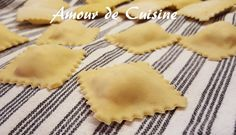 homemade ravioli, ravioli dough on video - Amour de cuisine - - Pastas Recipes, Wine Recipes, Homemade Ravioli, Meat Appetizers, Non Alcoholic Drinks, Yummy Food, Tasty, Risotto, Snack
