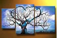 Nice unique tree canvas painting ... from Google Images