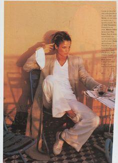 helena christensen photography by pamela hanson for vogue magazine france may 1994