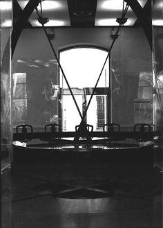 1992 TAVOLO//PENSATOIO- EXPO 92 UNIGE_ Padiglione della Comunità Scientifica Italiana_ Expò Internazionale_Cristoforo Colombo_La Nave e il Mare by Brunetto De Batté & Laura e Giovanni Spalla
