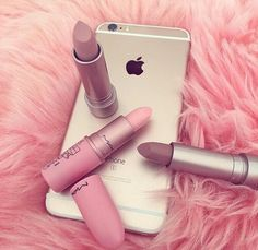 iphone, mac, and pink image