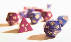 Teaching algorithms using Dungeons & Dragons dice.