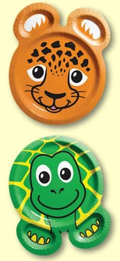 Animal Plates for Ch