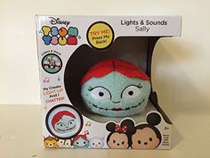 #largetsumtsum Disney Tsum Tsum Lights Sounds Sally Plush #tsumtsumplush