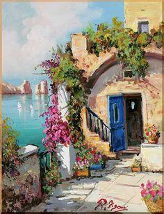 Mediterranean - 27 Средиземноморье, картины, подарки