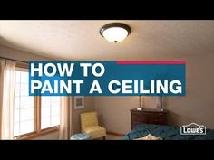 Paint a Ceiling   Painting a ceiling can make a room feel warmer, bigger or cozier depending on the color you use. We'll tell you everything you need to know to paint the perfect ceiling.