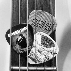 Green Day guitar picks