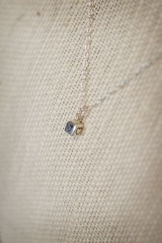 Initial Cube Necklace  Hand Stamped Sterling by SimplySweetStudio, $35.00