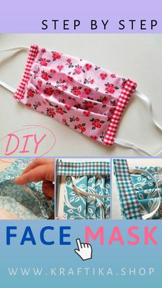 Diy Face Mask Sewing Discover Protect Yourself and Others - DIY Handmade Reusable Face Mask Step By Step Tutorial My face mask protects you yours protects me. Unfortunately due to recent events we can see not only a lack of. Small Sewing Projects, Sewing Projects For Beginners, Sewing Hacks, Sewing Tutorials, Sewing Crafts, Diy Crafts, Sewing Tips, Dress Tutorials, Fabric Crafts