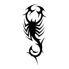 TATTOOS: Scorpion Tattoo Stencils