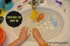 Chicken Noodle Soup sensory sink