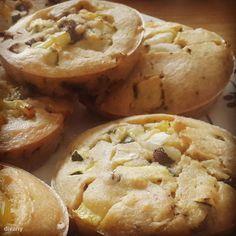 Omlettmuffin Omlet Muffins, Apple Pie, Diet Recipes, Vegan, Desserts, Food, Tailgate Desserts, Deserts, Essen