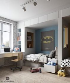 10 chambres d'enfant à la décoration moderne et colorée