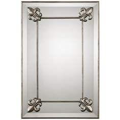 "Uttermost Blanchard 30"" High Decorative Wall Mirror"