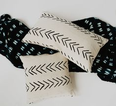 Every modern bohemian home needs this staple mud cloth pillow. Handwoven by women artisans in Mali. Modern Bohemian, Home Collections, Pillow Inserts, Mud, Hand Weaving, Artisan, Textiles, House Design, Pillows