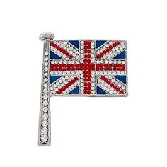 Butler and Wilson Union Jack Pin. This could easily fit into my life ;)