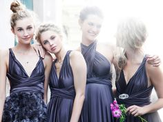 twobirds Bridesmaid | one dress, 15 ways to wrap it.