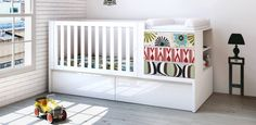 verwandelbares Babybett (70x140 cm)