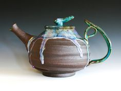 Moon Teapot, Handmade Stoneware Teapot, Large Ceramic Teapot, holds 88 oz on Etsy, $910.33 CAD
