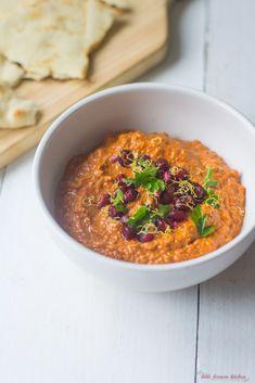 Turkish Red Pepper and Walnut Dip (Muhammara) via LittleFerraroKitchen.com