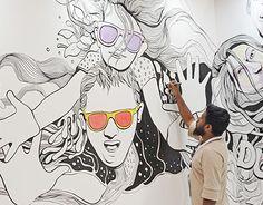 "Check out new work on my @Behance portfolio: ""Graffiti - World Art Dubai"" http://be.net/gallery/51550279/Graffiti-World-Art-Dubai"