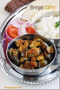 Andhra brinjal curry