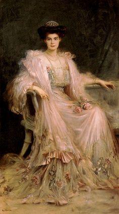 Ritter, Caspar (b,1861)- Princess Cecilie of Prussia