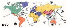 Regionalkoder Diagram, Map, Location Map, Maps