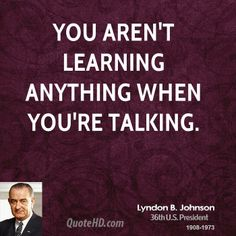 Lyndon B. Johnson Quote shared from www.quotehd.com