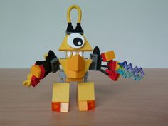 LEGO MIXELS VULK TESLO MIX instructions video with Lego 41501 and Lego 41506 Mixels Serie 1