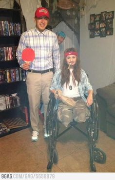 Winning Costumes  Forrest Gump: Lieutenant Dan, what are you doing here?…