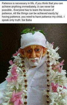 OM SAI RAM Sai Baba Pictures, God Pictures, Spiritual Religion, Spiritual Quotes, Dad Quotes, Life Quotes, Indian Spirituality, Sai Baba Miracles, Shirdi Sai Baba Wallpapers