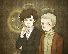 Look at this beautiful Sherlock fanart! :D LOOK AT IT.