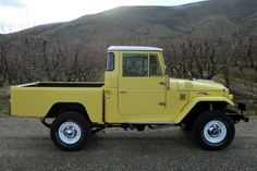 For Sale: 1965 Toyota FJ45 Land Cruiser Pickup - GRAB A WRENCH