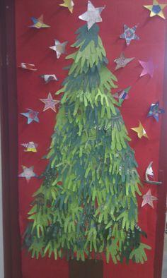 Ma porte de classe pour Noel!
