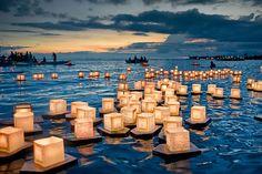 Festival de la Lanterne flottante à Honolulu (Hawai)