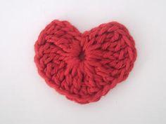 E aqui está seu coração pronto para ser usado em seus projetos de artesanato