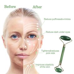 Jade Facial Roller and Gua Sha Sculpting Kit  #beauty #glowyskin #frankieknows #beautytools #makeup #massager #exfoliator