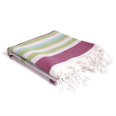 Two Sided Magenta Turkish Towel - Turquaz - On Temple & Webster today! Turkish Towels, Magenta, Temple, Decor Ideas, Traditional, Temples
