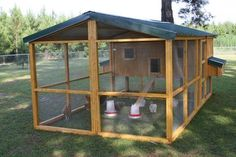 Not my pic, but would LOVE to make this coop!