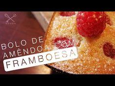 Bolo de Amêndoa com Framboesa + Freguesia do Livro - Confissões de uma Doceira Amadora - YouTube